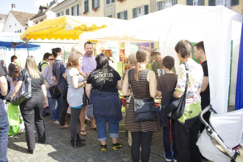 Die Veganmania ist schweizweit bekannt. Doch auch aus dem Ausland kamen einige Besucher und Aussteller.